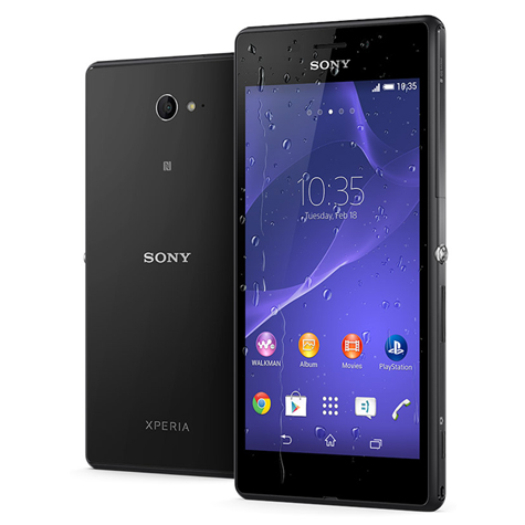 Sony_Xperia_M2_Schwarz_Displayreparatur