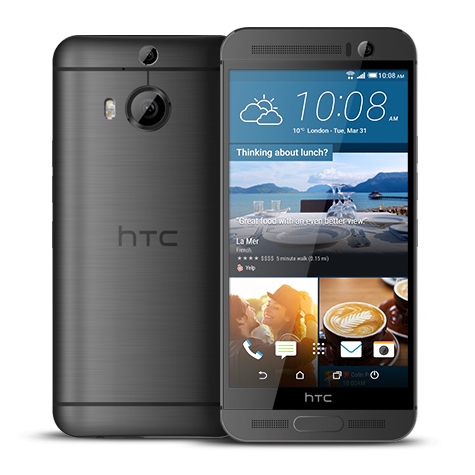 HTC_One_M9+_Schwarz_Displayreparatur
